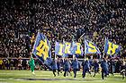 Oct. 17, 2015; Celebration after an Irish score vs USC. (Photo by Matt Cashore)
