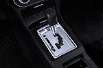 Gear shift detail view of a 2012 Mitsubishi Lancer GT Touring