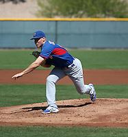 Rob Zastryzny - Chicago Cubs 2016 spring training (Bill Mitchell)