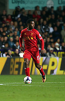 Pictured: Daniel Sturridge.<br /> Monday 16 September 2013<br /> Re: Barclay's Premier League, Swansea City FC v Liverpool at the Liberty Stadium, south Wales.