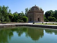 Mausoleum Ismail Samani, Buchara, Usbekistan, Asien, UNESCO-Weltkulturerbe<br /> Mausoleum Ismail Samani, Historic City of Bukhara, Uzbekistan, Asia, UNESCO Heritage Site