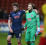 04.05.2018 Partick Thistle v Ross County: Marcus Fraser and Scott Fox