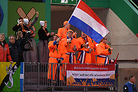 SPEEDSKATING: HAMAR: 01-03-2020, ISU World Speed Skating Championships, Dutch fans, NSSV, ©photo Martin de Jong