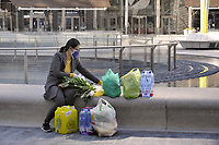 - la città di Milano sotto blocco totale e quarantena a causa dell'epidemia di Coronavirus nei primi giorni della primavera 2020<br /> <br /> - the city of Milan under total blockade and quarantine due to the Coronavirus epidemic in the early days of spring 2020