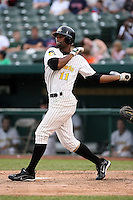 June 13th 2008:  Derrick Walker of the South Bend Silver Hawks, Class-A affiliate of the Arizona Diamondbacks, during a game at Stanley Coveleski Regional Stadium in South Bend, IN.  Photo by:  Mike Janes/Four Seam Images