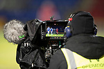 St Johnstone v Aberdeen…13.12.17…  McDiarmid Park…  SPFL<br />TV cameraman filming the game<br />Picture by Graeme Hart. <br />Copyright Perthshire Picture Agency<br />Tel: 01738 623350  Mobile: 07990 594431