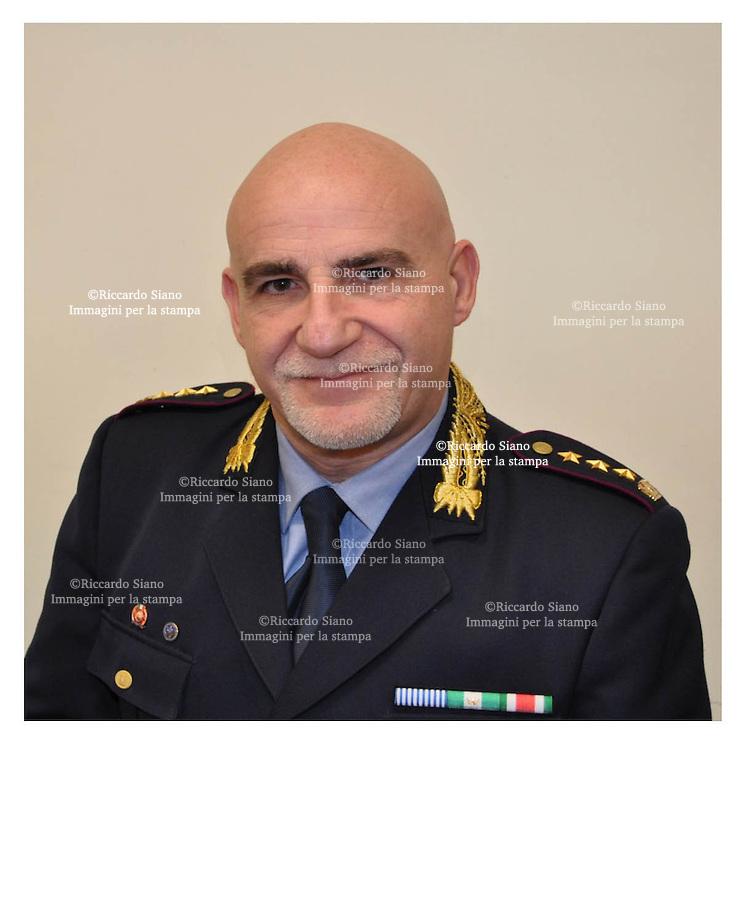 - NAPOLI 15 MAR  2014 - Il colonnello della polizia municipale, Ciro Esposito