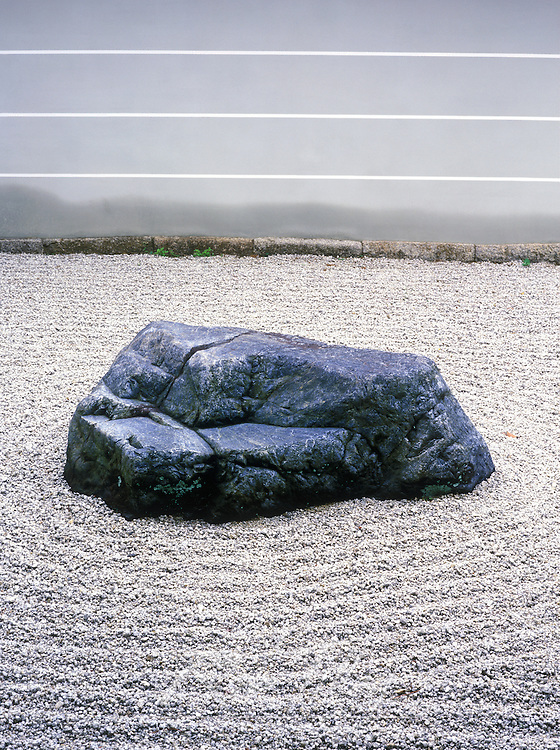 Asia, Japan, Kyoto, Nanzenji Temple Rock Garden