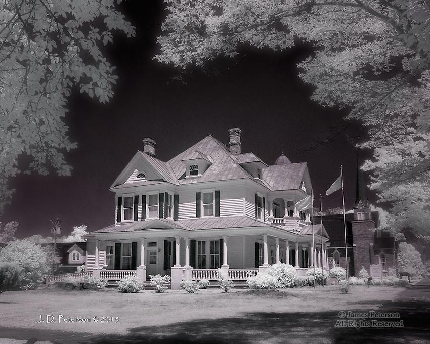 L. P. Best House, Warsaw, North Carolina (Infrared)