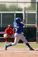 Deivy Batista - Kansas City Royals 2009 Instructional League. .Photo by:  Bill Mitchell/Four Seam Images..
