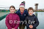 Enjoying a stroll in the Tralee Bay Wetlands on Thursday, l to r: Norena, Eilís and Noah O'Driscoll.