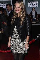 """HOLLYWOOD, CA - NOVEMBER 03: Actress Molly Sims arrives at the Los Angeles Premiere Of DreamWorks Pictures' """"Delivery Man"""" held at the El Capitan Theatre on November 3, 2013 in Hollywood, California. (Photo by Xavier Collin/Celebrity Monitor)"""