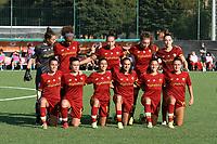 4th September 2021; Agostino di Bartolomei Stadium, Rome, Italy; Serie A womens championship football, AS Roma versus Napoli ; AS Roma Starting line up
