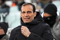 Calcio, Ottavi di finale di Tim Cup: Juventus vs Atalanta. Torino, Juventus Stadium, 11 gennaio 2017.<br /> Juventus coach Massimiliano Allegri arrives for the Italian Cup football round of 16 match between Juventus and Atalanta at Turin's Juventus Stadium, 8 January 2017. Juventus won 3-2 to join the quarter finals.<br /> UPDATE IMAGES PRESS/Manuela Viganti