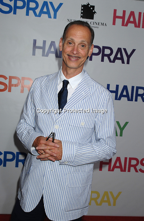 """John Waters..arriving at the New York Premiere of """"Hairspray"""" on         July 16, 2007 at The Ziegfeld Theatre. ..Robin Platzer, Twin Images......212-935-0770"""