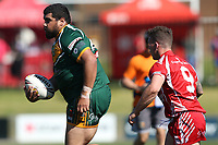 The Wyong Roos play Kincumber Colts in Round 17 of the Reserve Grade Central Coast Rugby League Division at Morry Breen Oval on 18th of August, 2019 in Kanwal, NSW Australia. (Photo by Paul Barkley/LookPro)