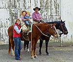 Lazanoff family portrait, San Luis Obispo, California