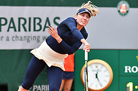 2nd October 2020, Roland Garros, Paris, France; French Open tennis, Roland Garros 2020; Tennis - Roland Garros  2020 - Alexandrova - (Rus)