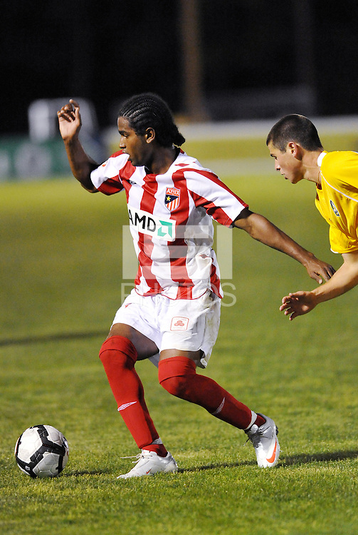 Sullivan Silva...AC St Louis were defeated 1-2 by Austin Aztek in their inaugural home game in front of 5,695 fans at Anheuser-Busch Soccer Park, Fenton, Missouri.