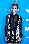 Silvia Alonso attends to blue carpet of presentation of new schedule of Movistar+ at Queen Sofia Museum in Madrid, Spain. September 12, 2018.(ALTERPHOTOS/Borja B.Hojas)