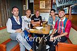 Enjoying the evening in Sean Og's on Sunday, l to r: Neil O'Shea, Ollie, Anthony, Catherine and Jesse O'Sullivan.