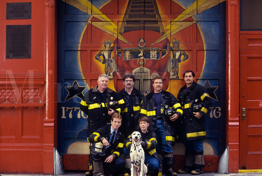 Firefighters, New York
