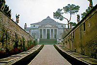 Villa La Rotonda is a Renaissance villa just outside Vicenza in northern Italy, designed by Andrea Palladio.<br />