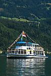 Oesterreich, Kaernten, Millstaetter See, Ausflugsschiff | Austria, Carinthia, Lake Millstatt, sightseeing boat