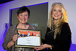 Pix: Shaun Flannery/shaunflanneryphotography.com<br /> <br /> COPYRIGHT PICTURE>>SHAUN FLANNERY>01302-570814>>07778315553>><br /> <br /> 4th April 2014.<br /> The Rotherham Athena Awards 2014.<br /> Honouree Joanna Saunders