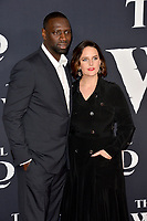"""LOS ANGELES, CA: 13, 2020: Omar Sy & Helene Sy at the world premiere of """"The Call of the Wild"""" at the El Capitan Theatre.<br /> Picture: Paul Smith/Featureflash"""