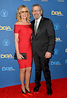 LOS ANGELES, USA. January 25, 2020: Christine Lahti & Thomas Schlamme at the 72nd Annual Directors Guild Awards at the Ritz-Carlton Hotel.<br /> Picture: Paul Smith/Featureflash