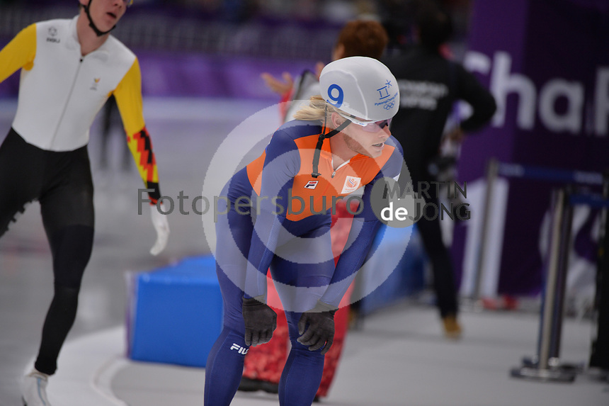 OLYMPIC GAMES: PYEONGCHANG: 24-02-2018, Gangneung Oval, Long Track, Mass Start Men, Koen Verweij (NED), ©photo Martin de Jong