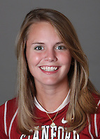 STANFORD, CA - OCTOBER 29:  Dana Lindsay of the Stanford Cardinal women's lacrosse team poses for a headshot on October 29, 2009 in Stanford, California.