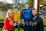 Enjoying the Tralee Town park playground on Tuesday, l to r: Louise Quill, Aidan and Luke Kelly and Derek O'Connor.