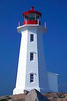 Light house, Peggy's Cove, Nova Scotia, Canada