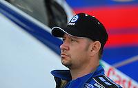 Jan 24, 2009; Chandler, AZ, USA; NHRA funny car driver Robert Hight during testing at the National Time Trials at Firebird International Raceway. Mandatory Credit: Mark J. Rebilas-