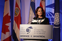 Helene Desmarais, <br /> Chair of the Board of Directors, HEC Montréal; Chair of the Board and Chief Executive <br /> Officer, Centre d'entreprises et d'innovation de Montréal (CEIM)  attend the 22nd edition of the Conference of Montreal, held June 13 to 15, 2016<br /> <br /> PHOTO : Pierre Roussel -  Agence Quebec Presse