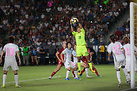 Carson, CA - Thursday August 03, 2017: Ayaka Yamashita during a 2017 Tournament of Nations match between the women's national teams of the United States (USA) and Japan (JPN) at the StubHub Center.