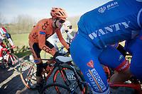 up the Haaghoek<br /> <br /> Omloop Het Nieuwsblad 2015