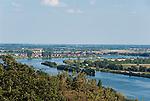 Germany, Bavaria, Upper Palatinate, Donaustauf: view into Danube Valley