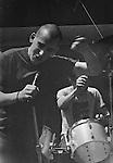 Ian MacKaye and Jeff Nelson of Minor Threat at Patrick Henry Elementary School Fair, Arlington VA, May 15,1982.