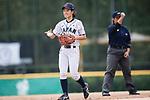 #27 Mitsuura Sakura of Japan in action during the BFA Women's Baseball Asian Cup match between Japan and Hong Kong at Sai Tso Wan Recreation Ground on September 5, 2017 in Hong Kong. Photo by Marcio Rodrigo Machado / Power Sport Images