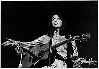 Joan Baez<br /> <br /> <br /> Innell, Reg<br /> Picture, 1968,- Toronto Star Archives - AQP