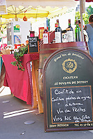 On a street market. Bordeaux city, Aquitaine, Gironde, France