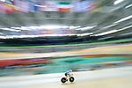 Michael Sametz, Rio 2016 - Para Cycling // Paracyclisme.<br /> Michael Sametz competes in the Para Cycling Men's C3 qualification 3000m individual pursuit // Michael Sametz participe à la poursuite individuelle de 3000 m de qualification paracyclisme masculin C3. 09/09/2016.