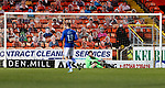 Dundee United v St Johnstone…12.01.21   Tannadice     SPFL<br />Zander Clark after being beaten by Lawrence Shankland <br />Picture by Graeme Hart.<br />Copyright Perthshire Picture Agency<br />Tel: 01738 623350  Mobile: 07990 594431