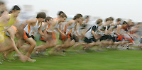 Area high schools boys cross country got off to a fast start Wednesday at Panarama Farms. run sprint