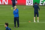 Rostov's Coach Ivan Daniliantz during the oficial training  before the match of UEFA Champions League between Atletico de Madrid and FC Rostov, at Vicente Calderon Stadium,  Madrid, Spain. October 31, 2016. (ALTERPHOTOS/Rodrigo Jimenez)