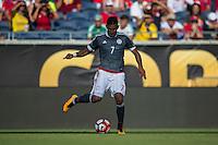 Orlando, Florida - Saturday, June 04, 2016: Paraguayan defender Jorge Benitez (7) during a Group A Copa America Centenario match between Costa Rica and Paraguay at Camping World Stadium.