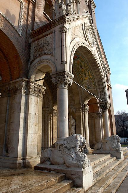 The Cathederal Szeged, Hungary. Szeged Dom.